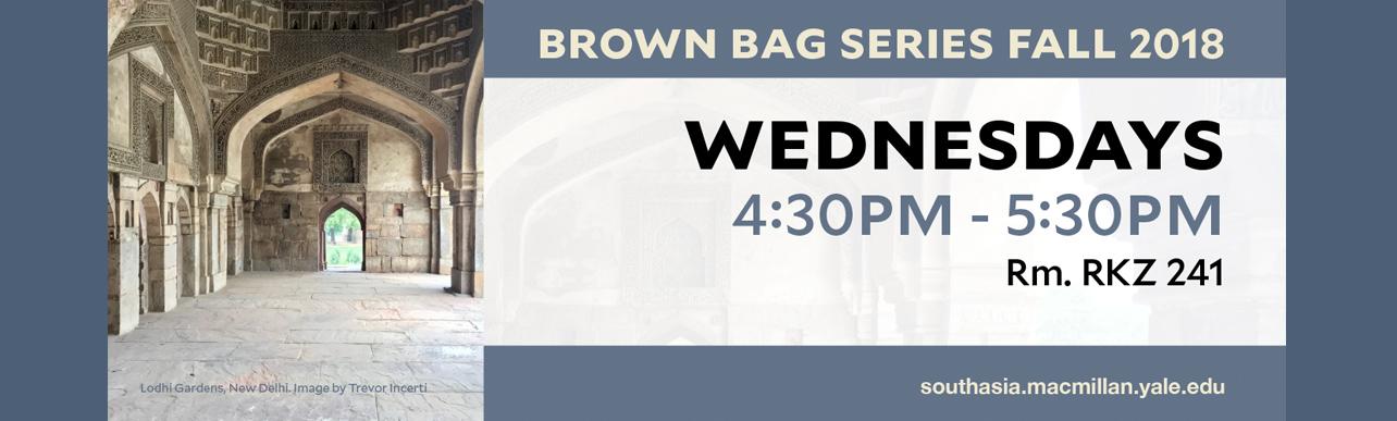 Brown Bag Series Fall 2018