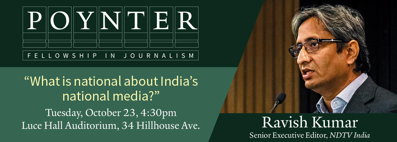 Ravish Kumar Pointer Lecture
